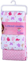 T-tomi tetra brisača, 2 kosa, roza polži