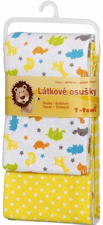 T-tomi Bawełniany ręcznik, Afryka, 2 sztuki