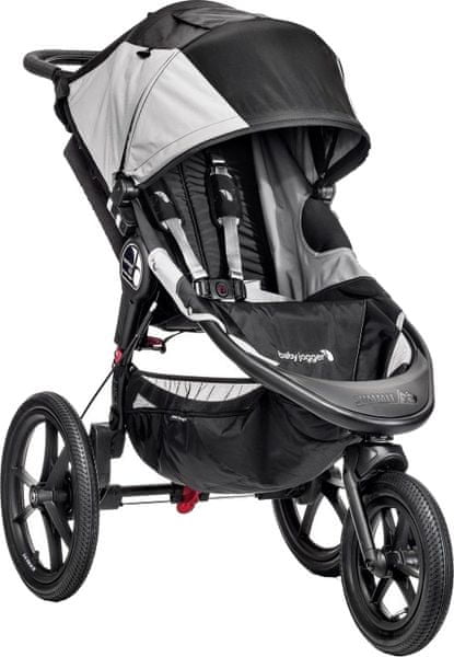 Baby Jogger Summit X3, Black/Gray