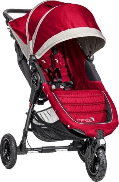 Baby Jogger City mini GT 2016, Crimson/Gray