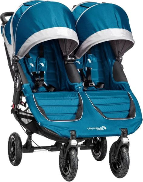 Baby Jogger City mini double GT 2016, Teal/Gray