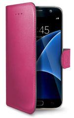 Celly pouzdro Wally, Samsung Galaxy S7, fuchsiová