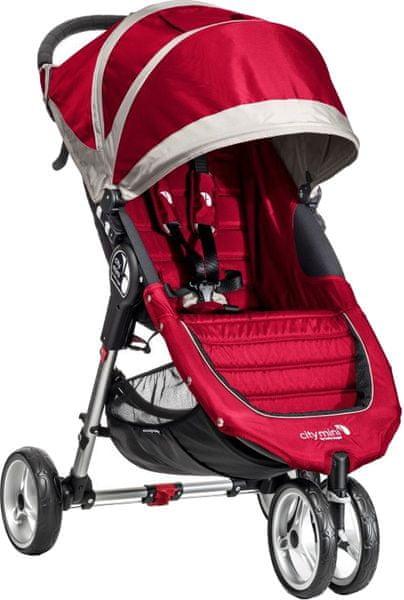 Baby Jogger City mini 2016, Crimson/Gray