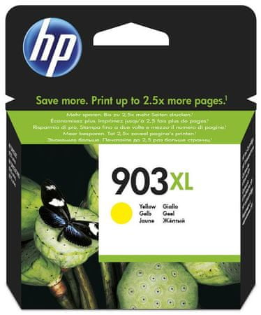 HP kartuša 903 XL, rumena (T6M11AE)
