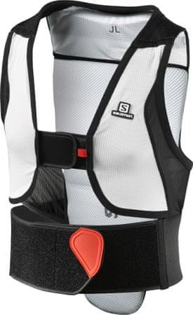 Salomon Flexcell Junior Black/Red JM