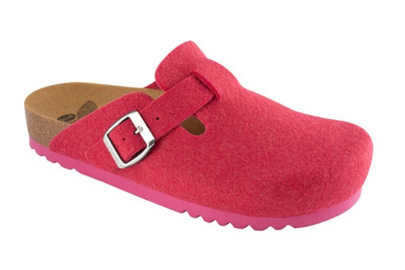 Scholl dámská domácí obuv Amiata 39 růžová