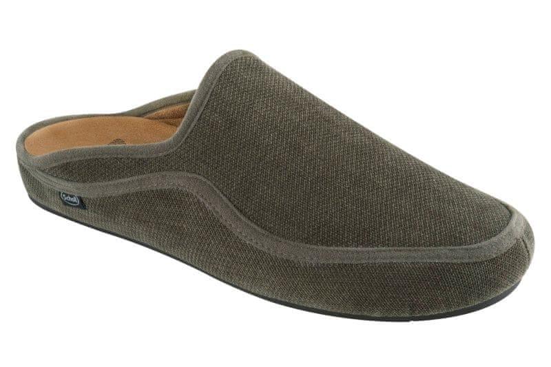 Scholl pánská domácí obuv Brandy 44 zelená