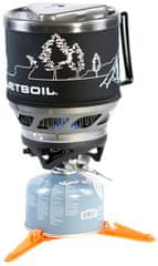 Jetboil Minimo Carbon with Line Art
