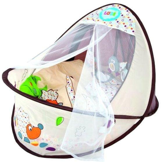 Ludi Cestovní postýlka-hnízdo pro miminko Nature