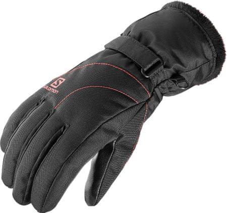 Salomon ženske rokavice Force Gtx, črne, S
