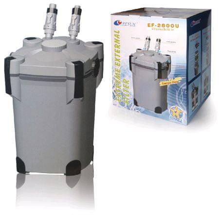 Resun zunanji filter EF-2800U z UV, 60 W, 2800 l/h