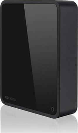 Toshiba zunanji trdi disk  3TB CANVIO Desk 8,89cm, USB 3.0, backup&lock software, črn