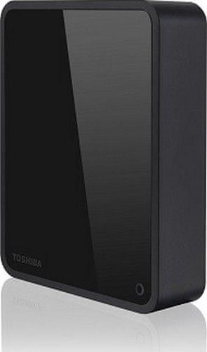 Toshiba Canvio For Desktop 4tb / Externí / Usb 3.0 / 3,5 / Black Hdwc340Ek3Ja