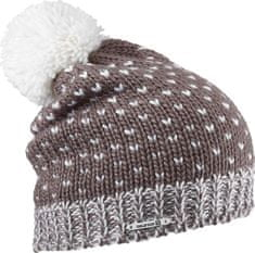 Salomon czapka Pearl Beanie Chestnut Brown/White