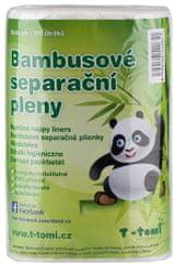 T-tomi Bambusové separačné plienky, 2 × 100 kusov