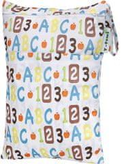 T-tomi nepremočljiva vreča, abeceda