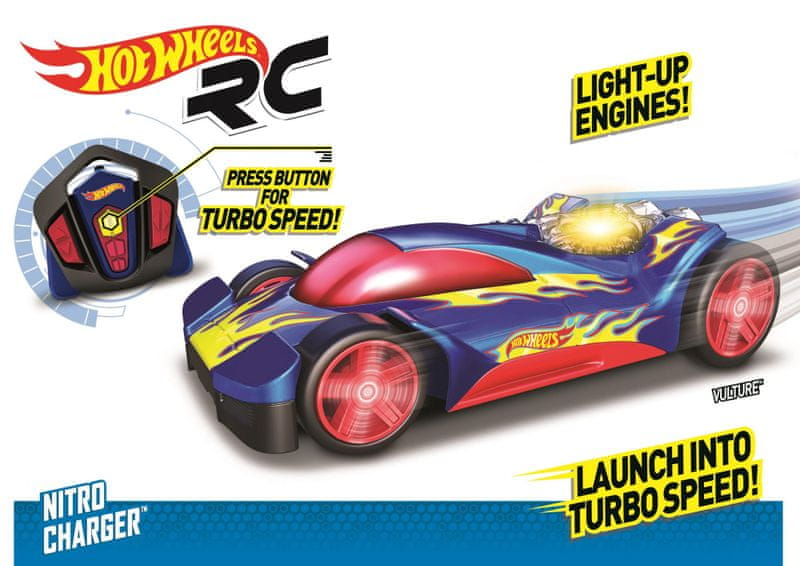 Nikko RC Hot Wheels Nitro Charger - Vulture