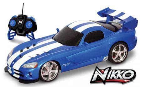 Nikko RC Dodge Viper Távirányítós autó, Zöld, 1:16