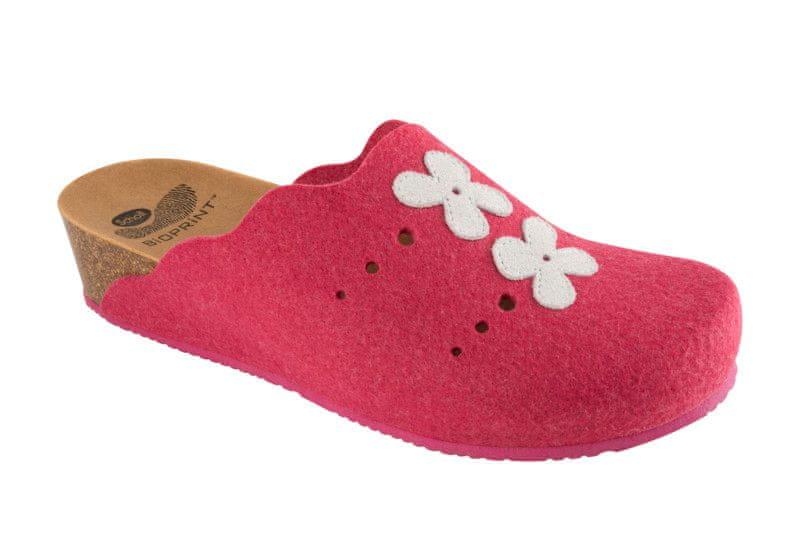 Scholl dámská domácí obuv Beille 39 růžová