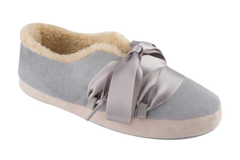 Scholl dámská domácí obuv Frou frou 41 šedá