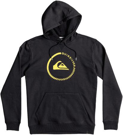 Quiksilver jopa Big Logo Hood M Otlr, moška, črna, L