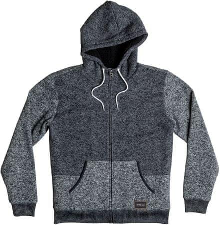 Quiksilver majica Keller Sherpa M Otlr, muška, siva, XL