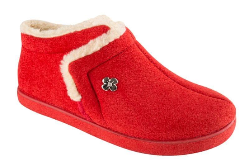 Scholl dámská domácí obuv Cheia 41 červená