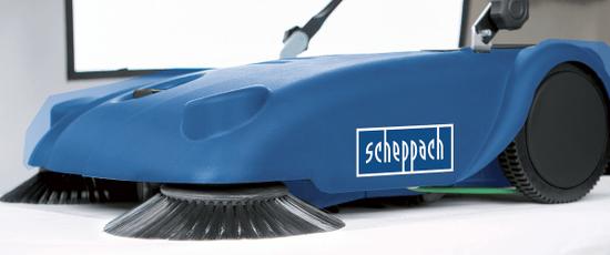Scheppach Mechanický zametač S 700