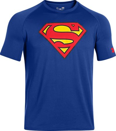 Under Armour majica Alter Ego Core Superman, modra, XL