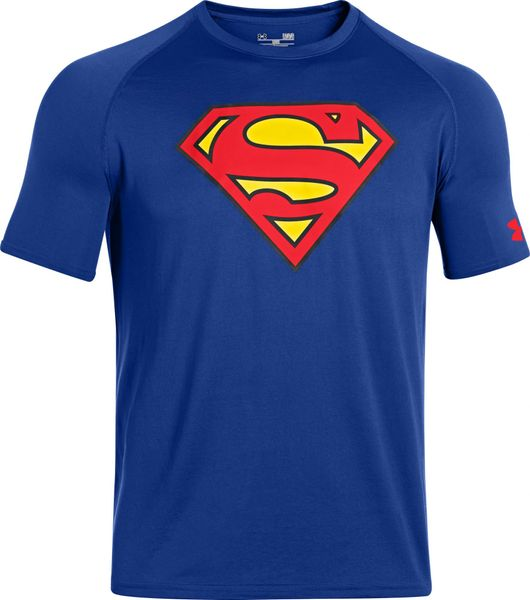 Under Armour Alter Ego Core Superman Royal Red L
