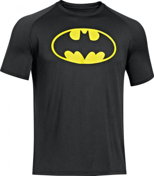 Under Armour Alter Ego Core Batman Black Steeltown Gold XL