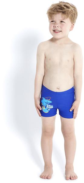 Speedo Seasquad chlapecké modré 4 (104)