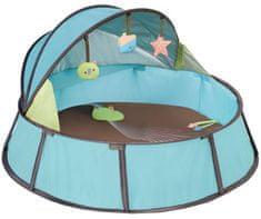 Babymoov Baby postieľka Babyni 2v1 Premium, Blue / Taupe