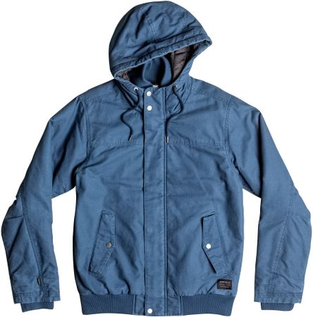 Quiksilver jakna Everyday Brooks M Jacket, muška, plava, S