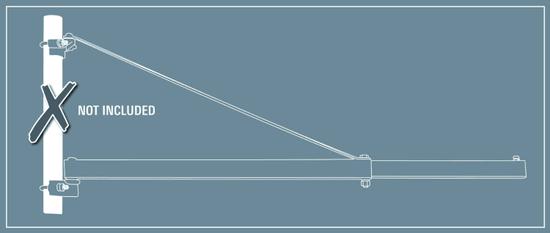 Einhell nihajna roka za električno dvigalo z žično vrvjo GT-SA 1200 (2255398)