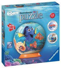 Ravensburger Disney Hľadá sa Dory puzzleball 72 dielikov