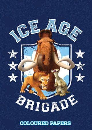 Ice Age kolaž papir A4 20 L
