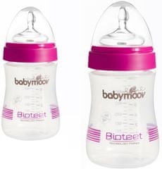 Babymoov 2 × Fľaška Bioteet 230 ml PP