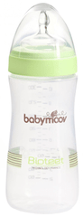 Babymoov Butelka Bioteet 330 ml PP, Almond/Green