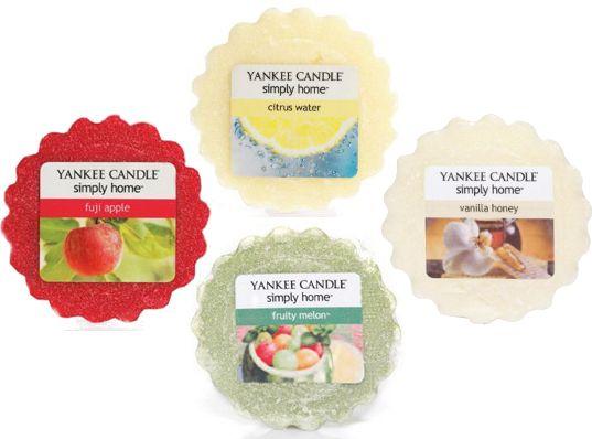 Yankee Candle Sada vonných vosků Fruity 4 ks