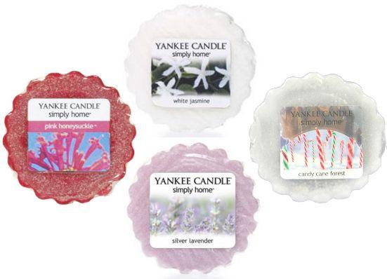 Yankee Candle Sada vonných vosků Sweet 4 ks