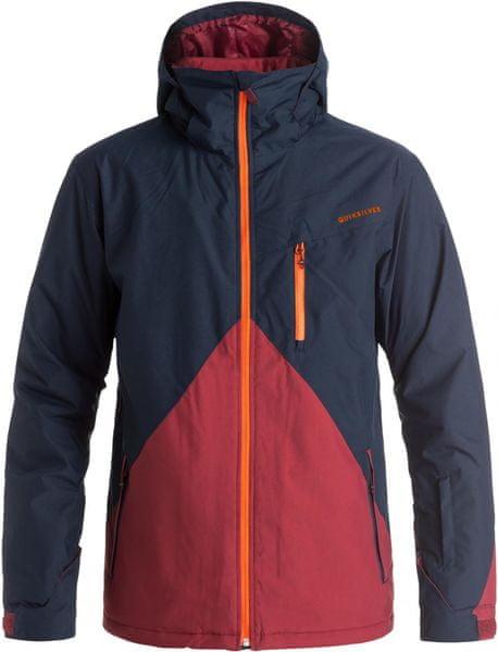 Quiksilver Mission Colorblock Jacket M Snowjacket Navy Blazer XL