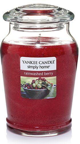 Yankee Candle Svíčka ve skle Rainwashed Berry 340 g