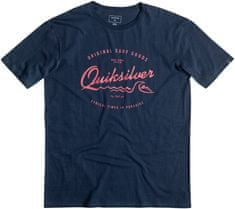 Quiksilver moška majica Classic Tee SS West Pier M Tees, modra
