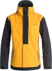 Quiksilver moška bunda Ambition Jacket, rumeno-črna