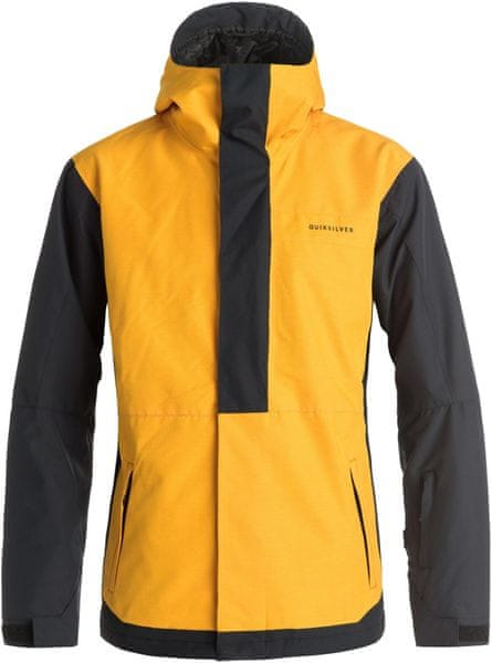 Quiksilver Ambition Jacket M Snowjacket Cadmium Yellow L