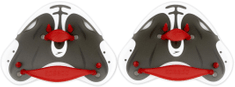 Speedo Biofuse Finger Paddle červená/šedá