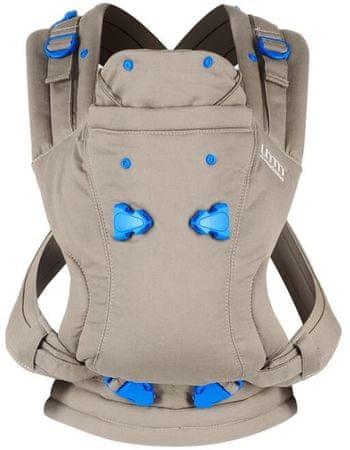 Petite&Mars Nosič dětský Pao Papoose ergonomický, béžová - rozbaleno