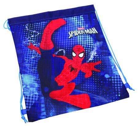 Spider Man vrečka za copate Spider Man, modra