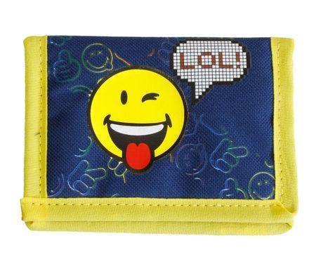 Smiley denarnica Smiley, modra